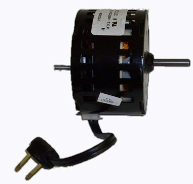 Broan Replacement Vent Fan Motor # 97009752, 1200 Rpm, 1.3 Amps, 120 Volts front-605514