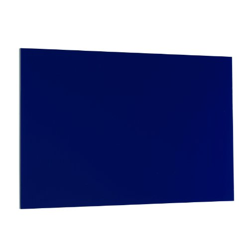 Steelmaster Soho Collection Magnetic Board With Dry-Erase Pad, Pen And Magnets, 14 X 24 Inches, Blue (270162408)