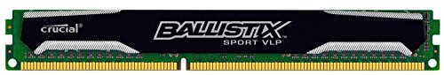 Crucial Ballistix Sport 4GB Single DDR3-1600 (PC3-12800) Very Low Profile 240-Pin UDIMM Memory Module BLS4G3D1609ES2LX0 (Crucial Ddr3 Low Profile compare prices)