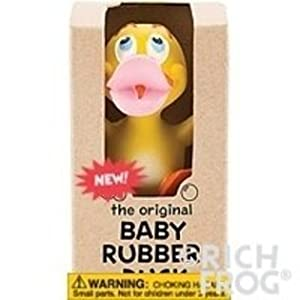 Rich Frog Baby Duck Natural Latex No Phthalates