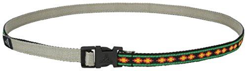 prAna Chalkbag Cotton Belt, Rasta, One Size