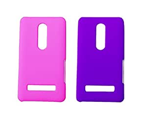 2 Pieces Winsome Deal Exclusive Hard Back Cover Case for Nokia Asha 210
