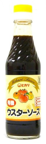 Light food organic Worcestershire sauce 250 ml