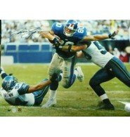 Signed Shockey, Jeremy (New York Giants) 16x20 Photo autographed at Amazon.com