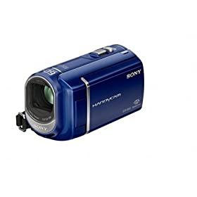 Sony DCRSX40/L Palm-Sized camcorder with 60X Optical Zoom (Blue)