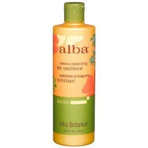 Alba Botanica Plumeria Replenishing Hair Conditioner, 12-Ounce Bottle (Pack Of 2)