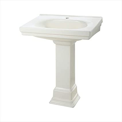 "Foremost F-1950-SBI Structure Suite 20-5/80"" Pedestal Sink Basin in Biscuit"