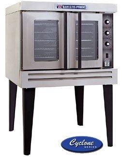 Liquid Propane Bakers Pride Bco-G1 Cyclone Series Gas Convection Oven Single Deck - 60,000 Btu
