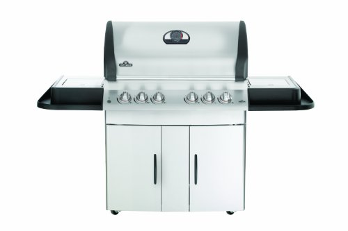 Napoleon M605Rsbinss-1 Mirage Natural Gas Grill With Infrared Rear And Side Burner front-547552