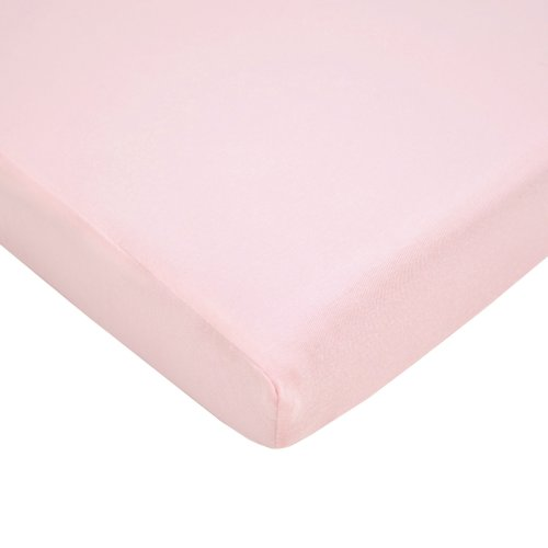 Find Bargain American Baby Company Jersey Knit Fitted Pack N Play Sheet, Pink