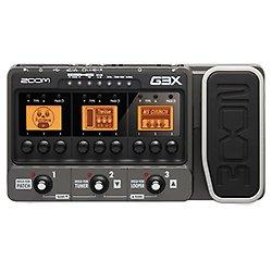 Zoom G3X Pédalier multi-effets/simulateur d'amplis pour Guitare