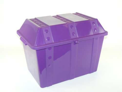 Romanoff Treasure Chest, Purple (Treasure Chest Basket compare prices)