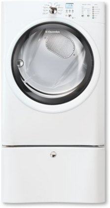 Electrolux EIED50LIW IQ-Touch 8.0 Cu. Ft. White Stackable Electric Front Load Dryer