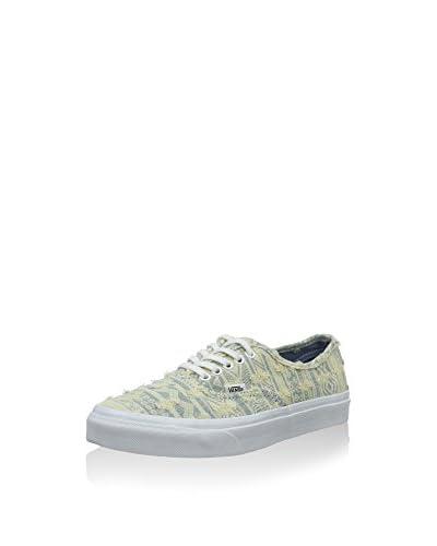 Vans Sneaker Authentic hellgelb/grau