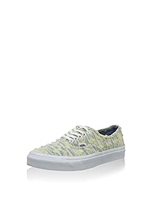 Vans Zapatillas Authentic (Amarillo Claro / Gris)