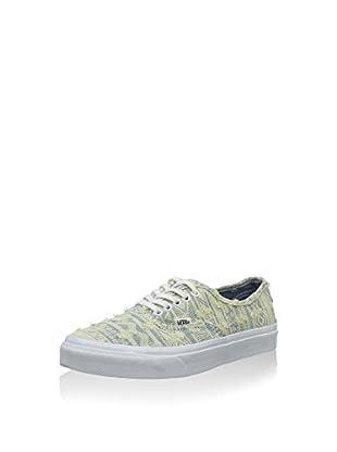 Vans Zapatillas Authentic (Amarillo Claro / Gris)
