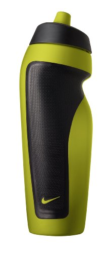Nike Sport Water Bottle with Hang Tag, Atomic Green/Black, 20-Ounce (Sports Bottle Nike compare prices)