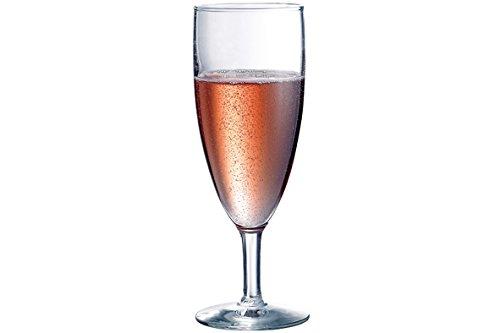Durobor 951/15 Napoli Verre de champagne 150ml, 12 verres, sans repère de remplissage