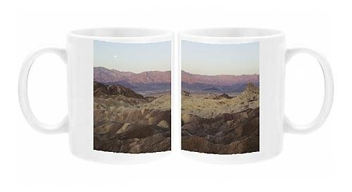 Photo Mug Of Panamint Range And The Death Valley - With Almost