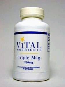 Vital Nutrients, Triple Mag 250 Mg 90 Capsules