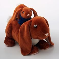 "Guess How Much I Love You 12"" Plush Nutbrown Hare & Baby"