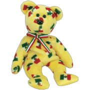 TY Beanie Baby - PINATA the Bear (Black Nose)