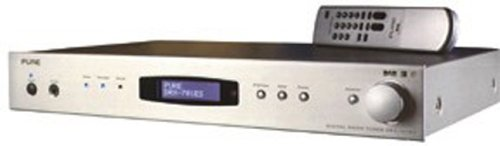 Pure Digital DRX 701ES Black DAB Tuner