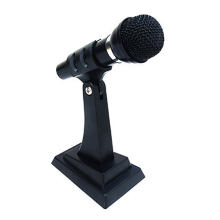 Stand Alone Microphone for PC Computer Laptop Notebook, VOIP, w/noise canceling