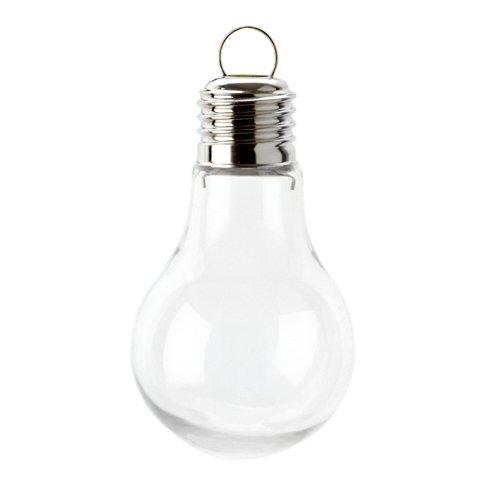 Bulk Shatterproof Plastic Bulb Shaped Ornament 97mm X 36 Pc. 3815-400-B36 (Plastic Fillable Light Bulbs compare prices)