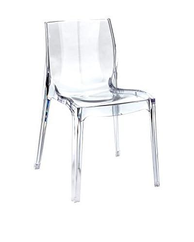 Hedendaagse Living Chair Set van 2 transparante Courmayeur