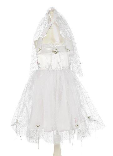 Souza for Kids - 103 - Déguisement - Costume - Mariée - Robe/Voile - 3-7 Ans - 98-122 cm