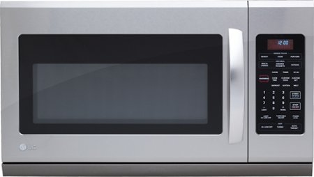 Best Prices! LG LMH2016ST 2.0 Cu. Ft. Stainless Steel Over-the-Range Microwave