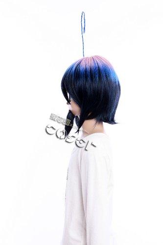 Imagen 4 de CosplayerWorld Blue Exorcist Mephisto Pheles Peluca Cosplay Anime Japones De Descuento 34cm 13inch Accesorios Cosplay