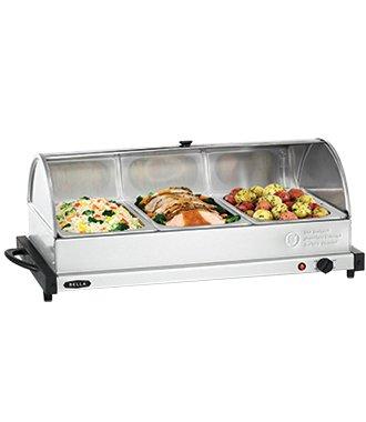 3 X 2QT Triple Buffet Server and Warming Tray