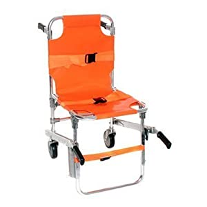 EMS Stair Chair Aluminum Light Weight Ambulance Medical Lift by Generic