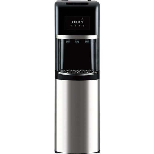 Primo Stainless Steel & Black Bottom Load Bottled Water Dispenser - 3, 4 or 5 Gallon (Water Cooler Bottom Load Primo compare prices)