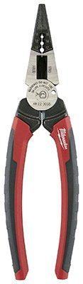 Milwaukee Electric Or Electrical Tool 48-22-3068 6 In 1 L Nose Pliers - Quantity 3