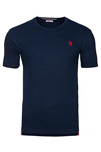 U.S. POLO ASSN. Round Neck Mens T-shirt Navy 38920, Size:XXL