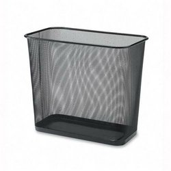 Rectangular Waste Bin,Steel Mesh,10x16-7/10x14-7/10,Black (Rectangle Garbage Can compare prices)