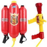 SGS Firefighter Water Back Pack Toy
