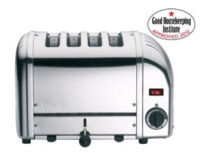Dualit 40352 Vario 4-Slot Polished Toaster--Good Housekeeping Institute Approved 2012