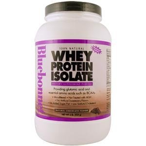 Bluebonnet Nutrition 100% Natural Whey Protein Isolate Powder Chocolate Flavor - 2 Lbs front-161435