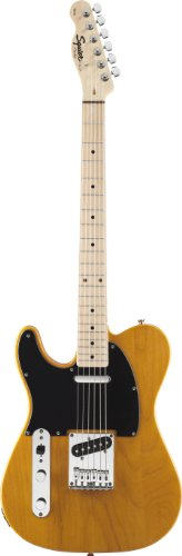Fender Squier® Affinity Telecaster® – Left Handed Electric Guitar, Butterscotch Blonde