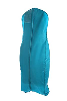 Bags for LessTM Breathable Wedding Gown Dress Garment Bag, Turquoise