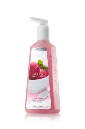バス&ボディワークス バニラ ベリーシャーベット ディープクレンジングハンドソープ Vanilla Berry Sorbet Deep Cleansing Hand Soap