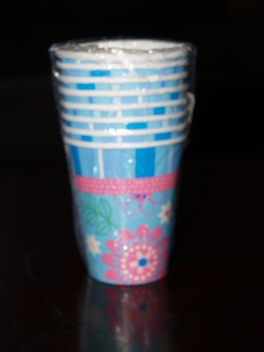 Floral Slumber Party 9oz Paper Cups
