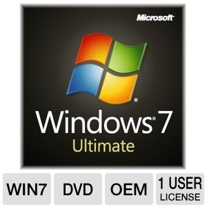 Windows 7 Ultimate 32 Bit System Builder 1pk [Old Version]