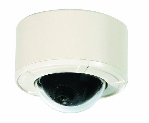 Clover Electronics HDC365 High-Resolution Mini Color Dome Camera - Small (White)
