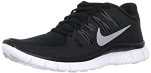 Nike Free 5.0+ Womens Running Shoes 580591-002 Black 8.5 M US