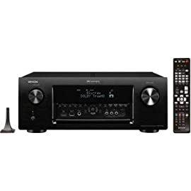 Denon IN-Command AVR-3313CI 3D A/V Receiver - 7.2 Channel - Black